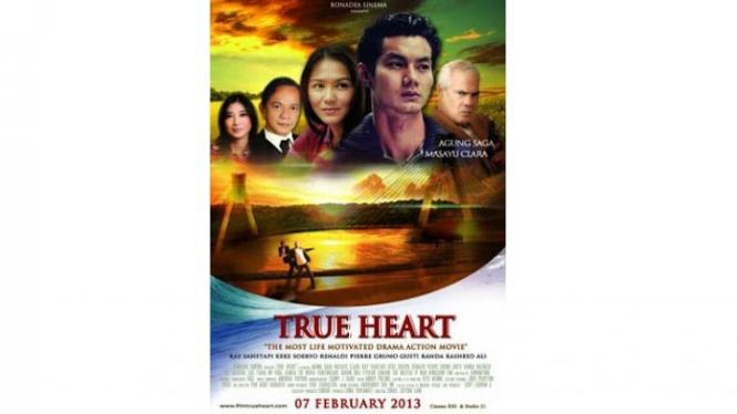 """Poster Film """"True Heart"""""""