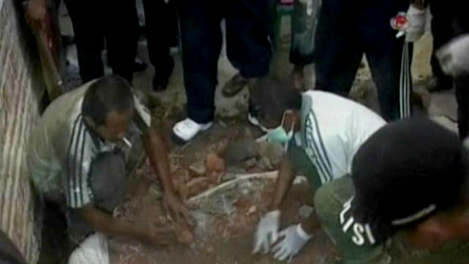 Mantan Kepala Desa Otaki Pembunuhan Anak Kandungnya Sendiri
