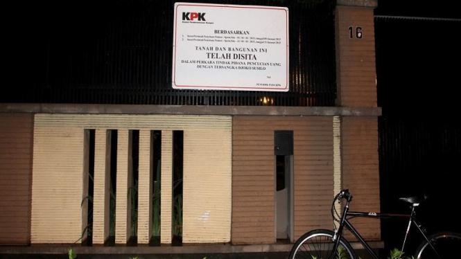 Rumah Djoko Susilo di Solo yang disita KPK.