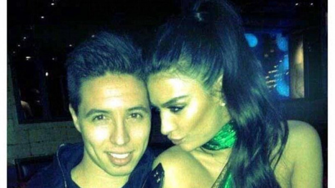 Samir Nasri & Anara Atanes
