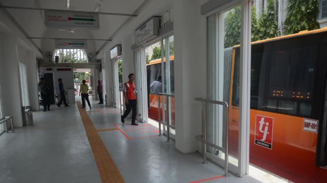 Ini Jalur Transjakarta Rute Ekspres Pgc Ancol Viva