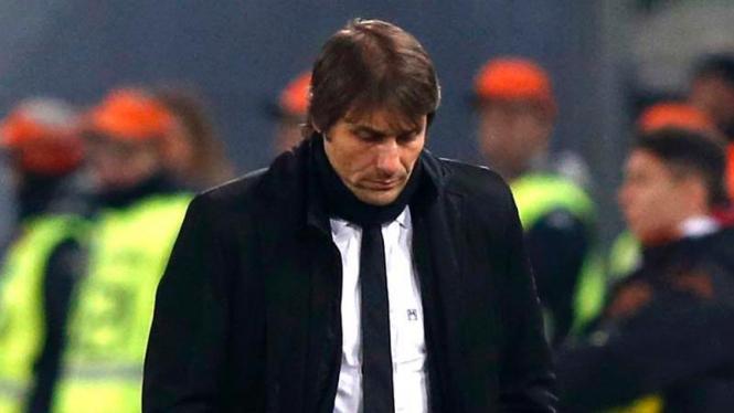Pelatih timnas Italia, Antonio Conte.