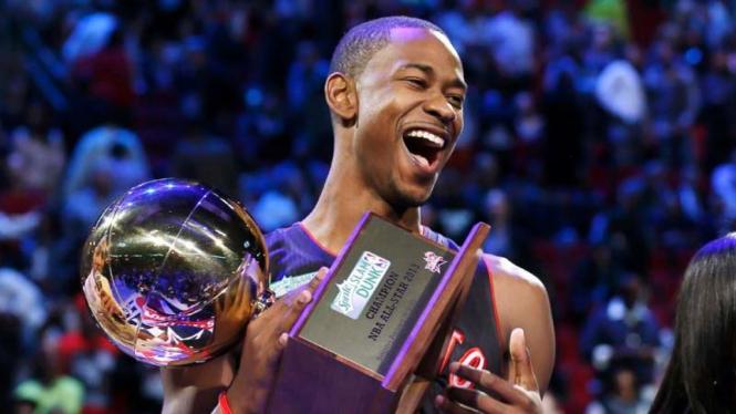Terrence Ross juara slam dunk NBA All Star 2013