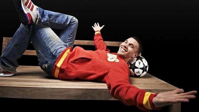 Striker Arsenal, Lukas Podolski