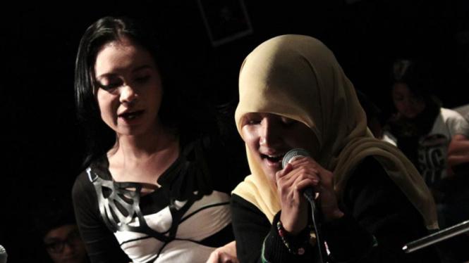Rossa dan Fatin Shidqia Lubis
