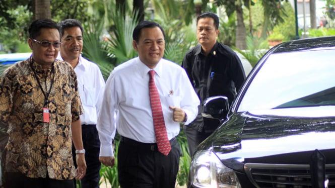 Menteri Keuangan, Agus Martowardojo di KPK