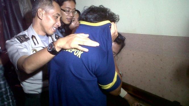 Tersangka pencabulan 15 bocah di Depok, Wardoyo alias Ardo