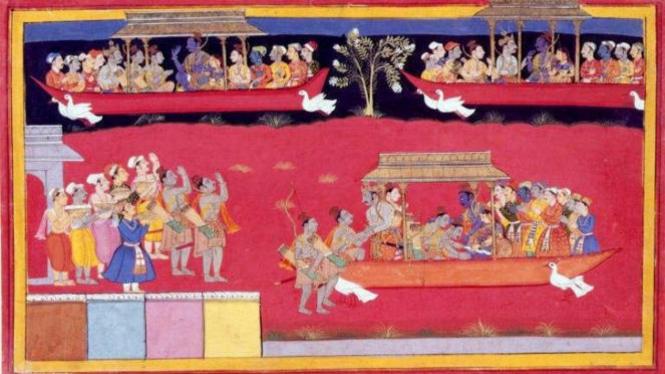 Prasasti yang tergambar tentang Vimana