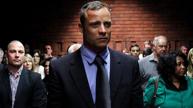 Oscar Pistorius di persidangan