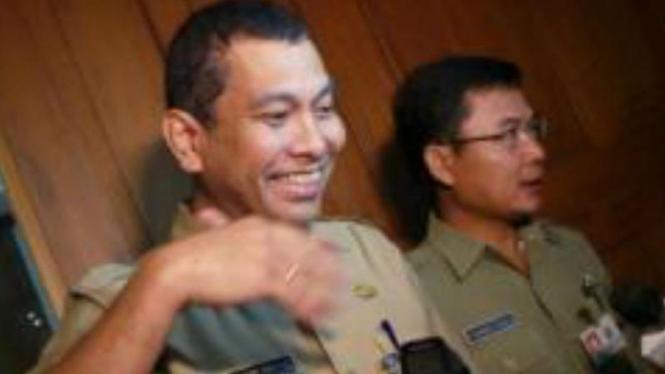 Kepala Dinas Pekerjaan Umum DKI, Manggas Rudi Siahaan