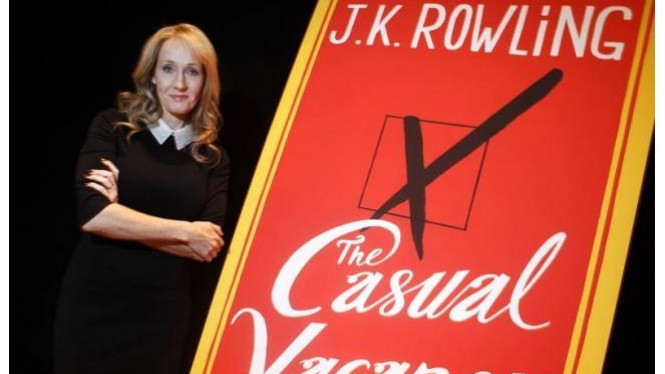 JK Rowling dan novel terbarunya, The Casual Vacancy