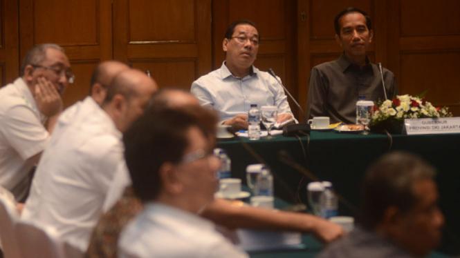 Jokowi Gelar Public Hearing Bahas MRT