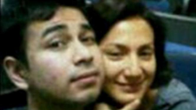 Raffi Ahmad dan Wanda Hamidah