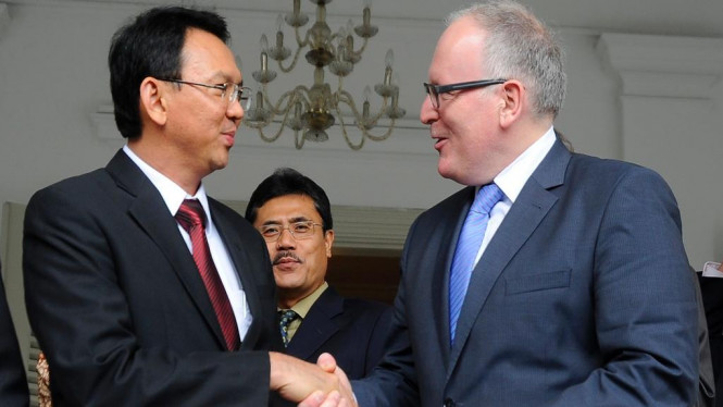 Wakil Gubernur DKI Jakarta terima kunjungan Menlu Belanda
