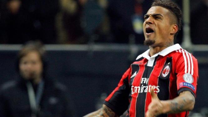 Gelandang AC Milan, Kevin Prince Boateng.