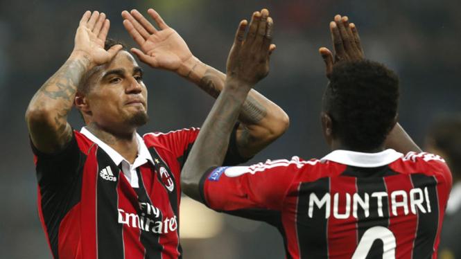 Leg Pertama AC Milan VS Barcelona