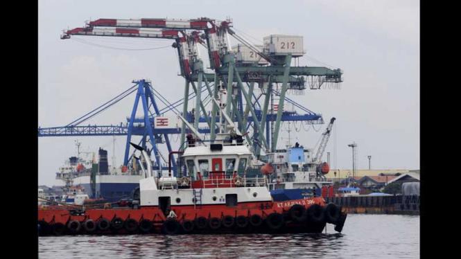 Laju Pembangunan Pelabuhan Tanjung Priok