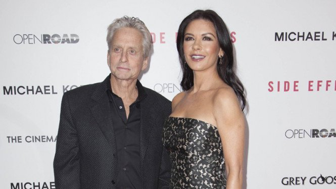 Michael Douglas dan Catherine Zeta-Jones