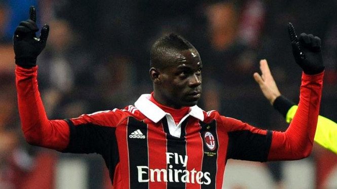 Striker AC Milan, Mario Balotelli
