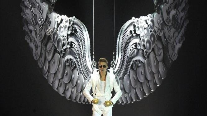Penampilan Justin Bieber
