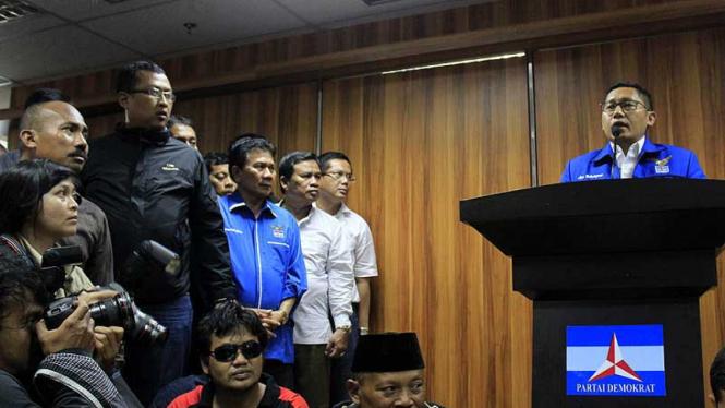 Anas Urbaningrum Mundur Dari Ketua Umum Partai Demokrat