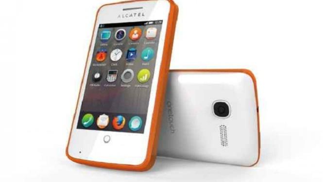 Alcatel One Touch dengan OS dari Mozilla