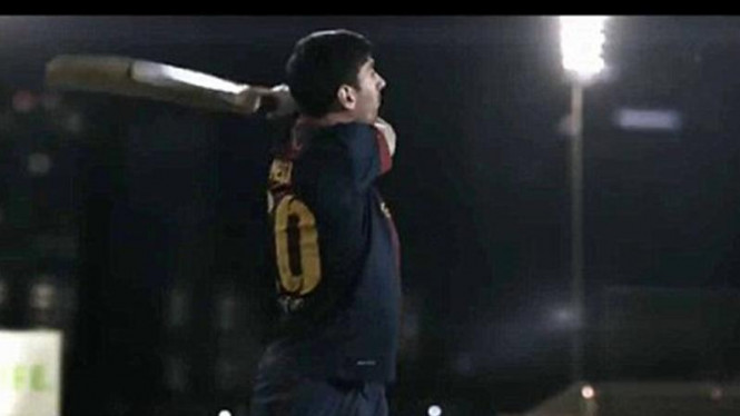 Lionel Messi main kriket