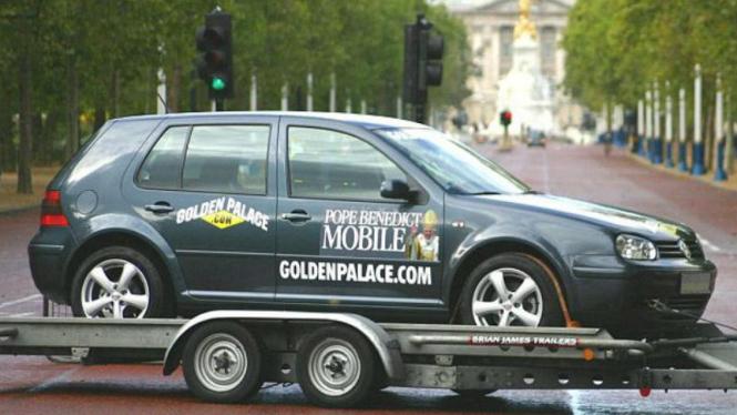 VW Golf bekas Paus Benediktus XVI