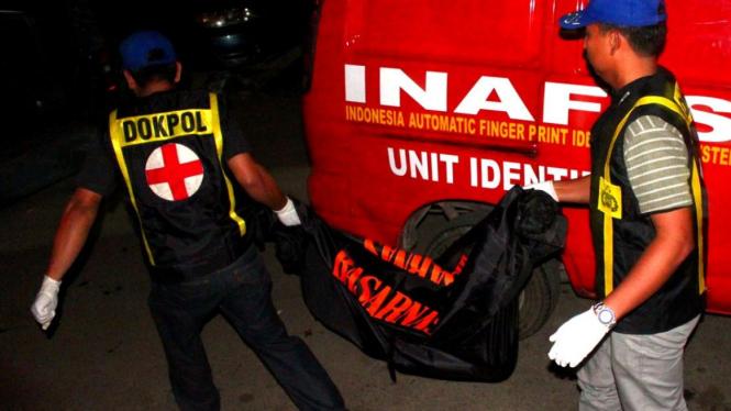 Jasad anak dibungkus kantong mayat di Batam