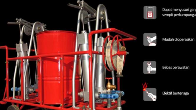 Alat Pemadam Kebakaran Pawang Geni