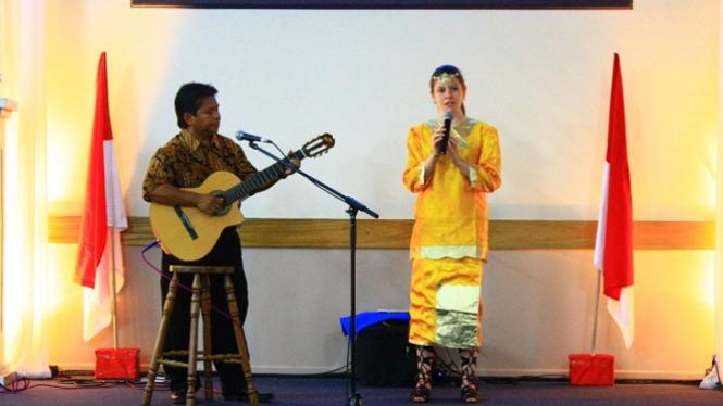 Salah satu siswi program Australia-Indonesia Youth Exchange Program (AIYEP)