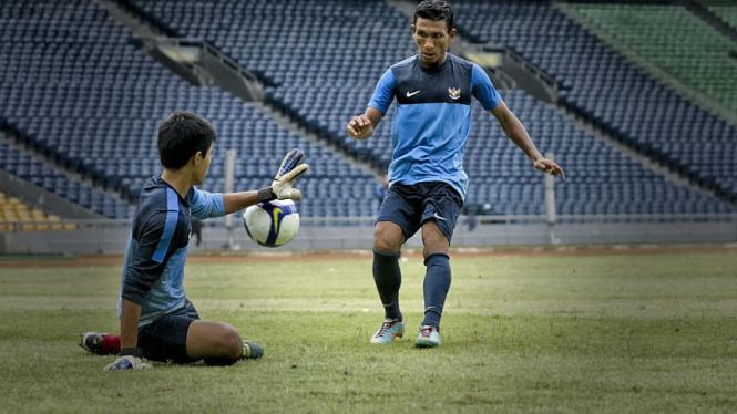 Latihan Timnas Pra Piala Asia