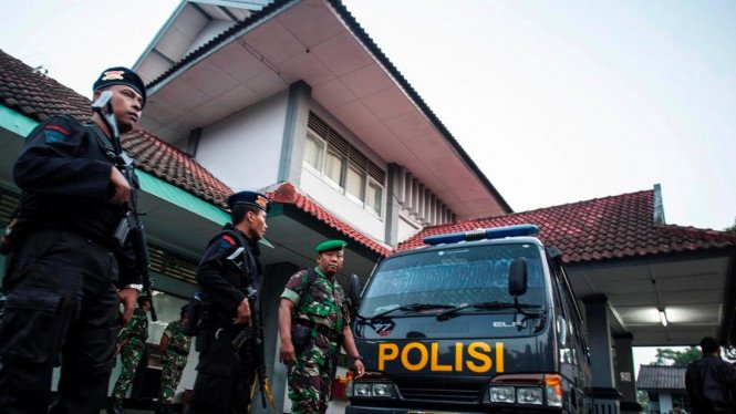 TNI Ikut Berjaga di Lapas Cebongan Sleman, DIY