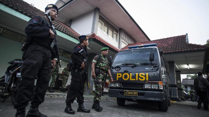 Pasca Penyerbuan di Lapas Cebongan, Polisi Bersiaga
