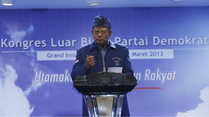 Pidato Perdana SBY