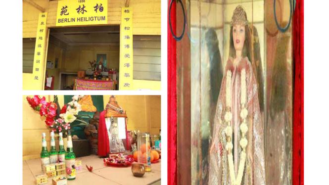 Kuil Barbie di Pulau Ubin