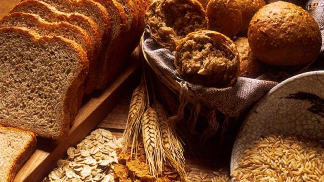 Roti gandum.
