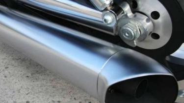 Ilustrasi knalpot motor