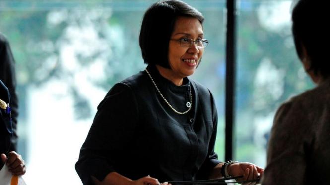 Wakil Menteri Keuangan Anny Ratnawati di KPK