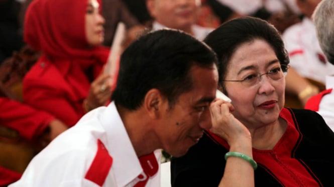 Megawati dan Jokowi Menghadiri Gerakan Nelayan Tani Indonesia
