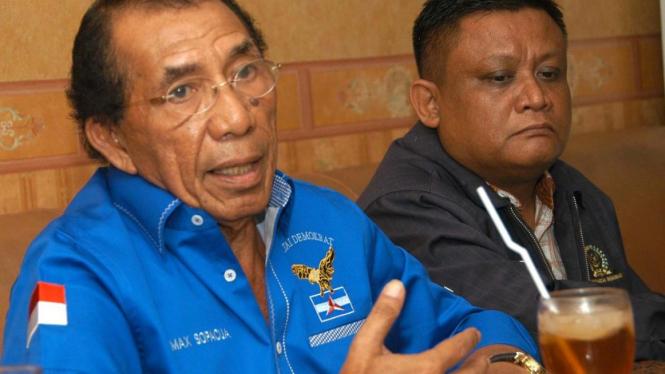 Mantan Wakil Ketua Umum Partai Demokrat Max Sopacua