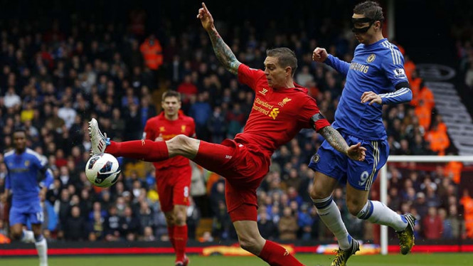 Liverpool Tahan Imbang Chelsea