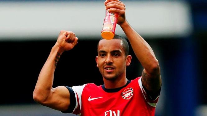 Pemain Arsenal, Theo Walcott