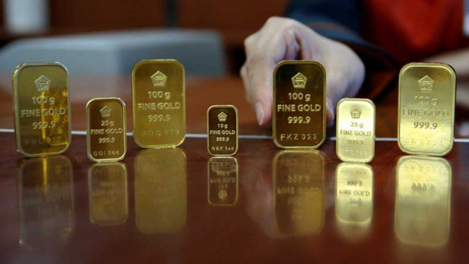 Khawatir Ekonomi China Anjlok Emas Dunia Berkilau Viva