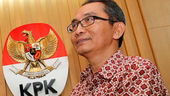 Mantan Wakil ketua KPK. Adnan Pandu Praja.