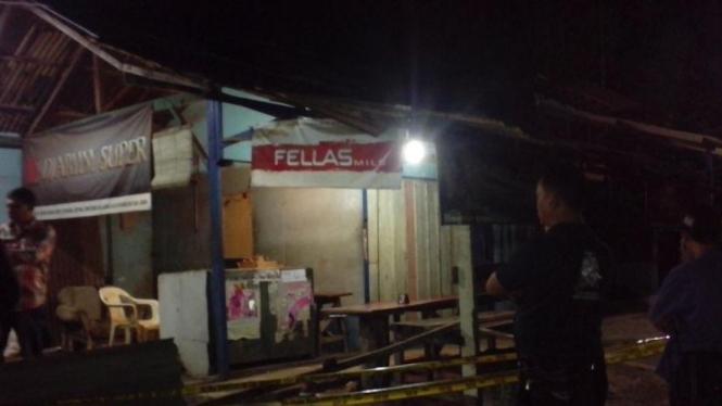 Warung Tempat Tito Kei Ditembak