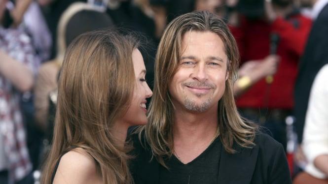 Penampilan Pertama Angelina Jolie Setelah Mastektomi