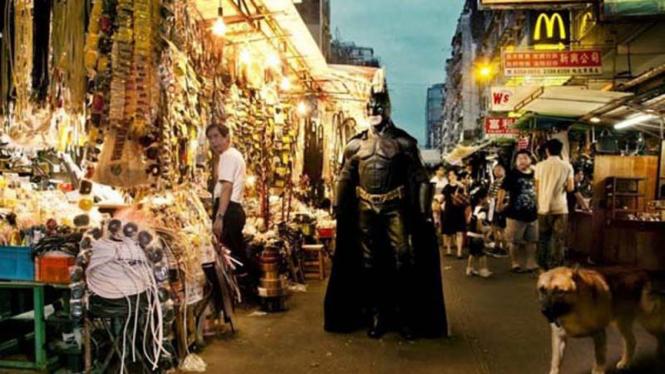 Mengintip keseharian para superhero