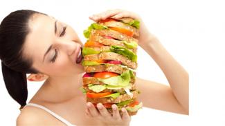 Makan banyak