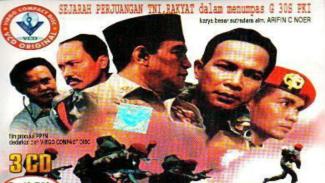 Sampul film G30s/PKI yang pernah menjadi tontonan wajib di Indonesia pada masa pemerintahan Orde Baru.
